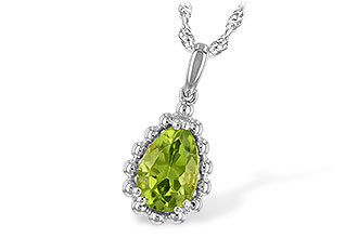 D234-67535: NECKLACE 1.30 CT PERIDOT