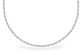 E318-33835: 1.5MM 14KT 18IN GOLD ROPE CHAIN WITH LOBSTER CLASP