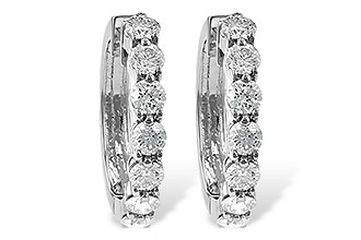 G231-02934: EARRINGS 2 CT TW