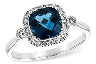 G234-64753: LDS RG 1.62 LONDON BLUE TOPAZ 1.78 TGW