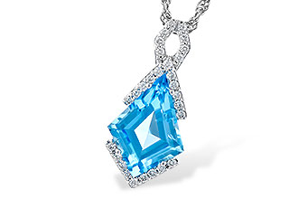 G318-29280: NECK 2.40 BLUE TOPAZ 2.53 TGW