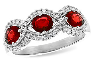 K318-31152: LDS WED RG 1.10 TW RUBY 1.35 TGW
